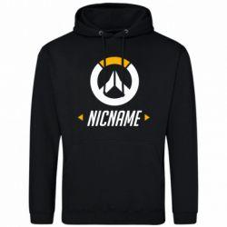 Мужская толстовка Your Nickname Overwatch
