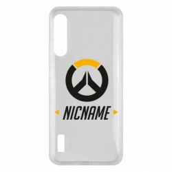 Чохол для Xiaomi Mi A3 Your Nickname Overwatch