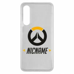 Чехол для Xiaomi Mi9 SE Your Nickname Overwatch