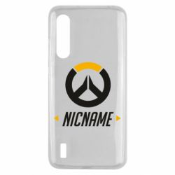 Чехол для Xiaomi Mi9 Lite Your Nickname Overwatch