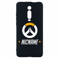Чехол для Xiaomi Mi9T Your Nickname Overwatch