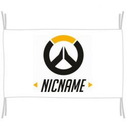 Флаг Your Nickname Overwatch
