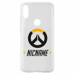 Чехол для Xiaomi Mi Play Your Nickname Overwatch