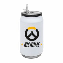 Термобанка 350ml Your Nickname Overwatch