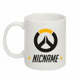 Кружка 320ml Your Nickname Overwatch