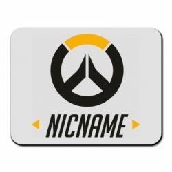 Коврик для мыши Your Nickname Overwatch