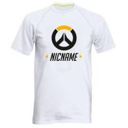 Мужская спортивная футболка Your Nickname Overwatch
