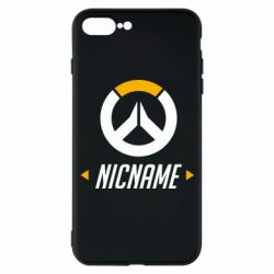Чехол для iPhone 7 Plus Your Nickname Overwatch