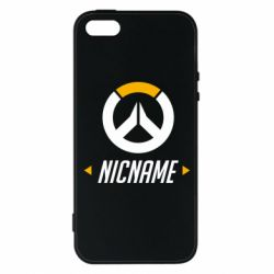 Чехол для iPhone5/5S/SE Your Nickname Overwatch