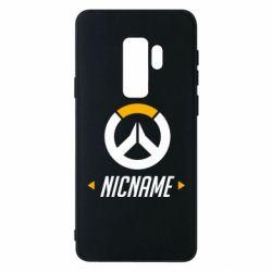 Чехол для Samsung S9+ Your Nickname Overwatch