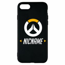 Чехол для iPhone 8 Your Nickname Overwatch