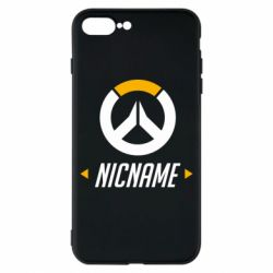 Чехол для iPhone 8 Plus Your Nickname Overwatch