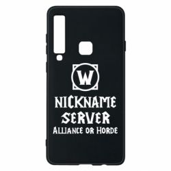 Чохол для Samsung A9 2018 Your nickname World of Warcraft
