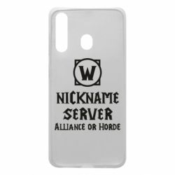 Чохол для Samsung A60 Your nickname World of Warcraft