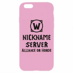 Чохол для iPhone 6 Plus/6S Plus Your nickname World of Warcraft