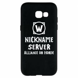 Чохол для Samsung A5 2017 Your nickname World of Warcraft