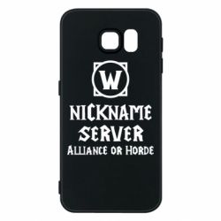 Чохол для Samsung S6 Your nickname World of Warcraft