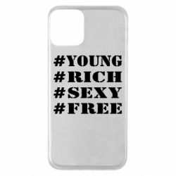 Чехол для iPhone 11 #Your #Rich #Sexy #free
