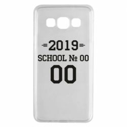 Чехол для Samsung A3 2015 Your School number and class number