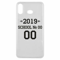 Чехол для Samsung A6s Your School number and class number