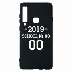 Чехол для Samsung A9 2018 Your School number and class number