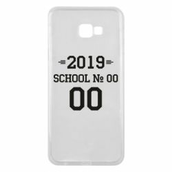 Чехол для Samsung J4 Plus 2018 Your School number and class number