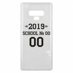 Чехол для Samsung Note 9 Your School number and class number