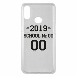 Чехол для Samsung A10s Your School number and class number