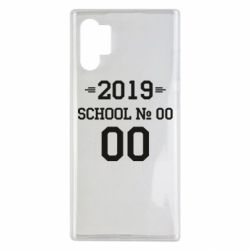 Чехол для Samsung Note 10 Plus Your School number and class number