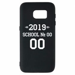 Чехол для Samsung S7 Your School number and class number