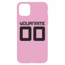 Чохол для iPhone 11 Yourname Akashi