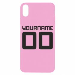 Чохол для iPhone X/Xs Yourname Akashi