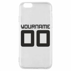 Чохол для iPhone 6/6S Yourname Akashi