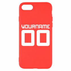 Чохол для iPhone 7 Yourname Akashi