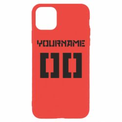 Чехол для iPhone 11 Pro Max Yourname Red October