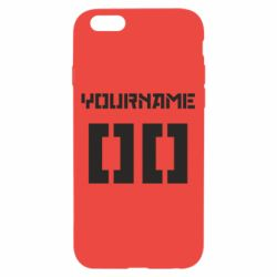 Чехол для iPhone 6/6S Yourname Red October