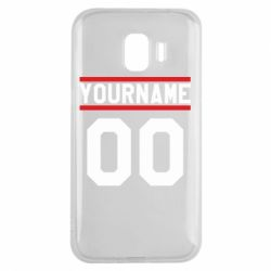Чохол для Samsung J2 2018 Yourname USA