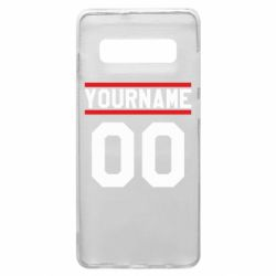 Чохол для Samsung S10+ Yourname USA