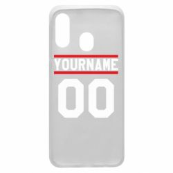 Чохол для Samsung A40 Yourname USA