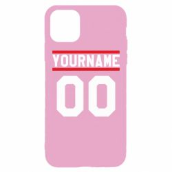Чохол для iPhone 11 Pro Max Yourname USA