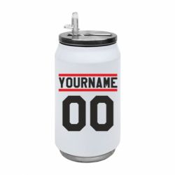 Термобанка 350ml Yourname USA