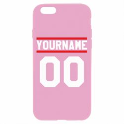 Чохол для iPhone 6/6S Yourname USA