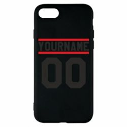Чохол для iPhone 7 Yourname USA