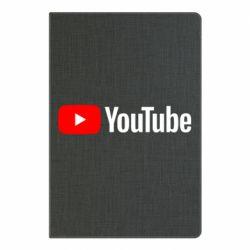 Блокнот А5 Youtube logotype