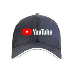 Кепка Youtube logotype