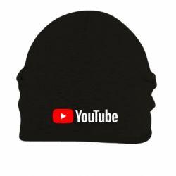 Шапка на флисе Youtube logotype