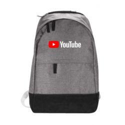 Городской рюкзак Youtube logotype
