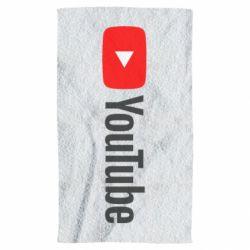 Полотенце Youtube logotype