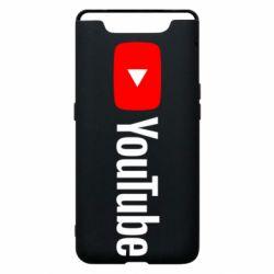 Чехол для Samsung A80 Youtube logotype