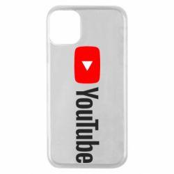 Чехол для iPhone 11 Pro Youtube logotype